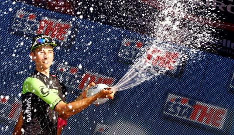 Formolo claims win, Clarke takes Giro lead