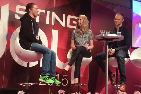 Interview with Spotify founder Martin Lortentzon
