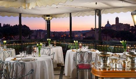 Six of the best rooftop restaurants in Rome