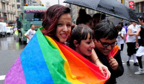 Spain ranks in top ten for gay rights in Europe