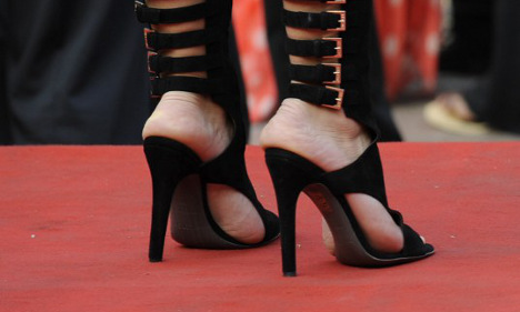 Cannes Film Fest: 'We never banned flat shoes'