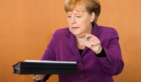 Merkel defends BND against criticism