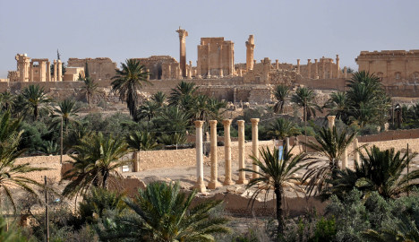 France: 'World must act over threat to Palmyra'