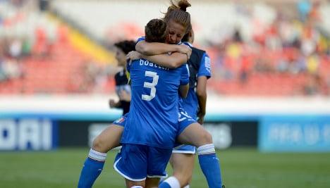 Furore over Italy football chief's lesbian slur