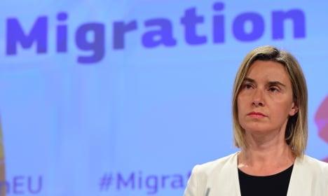 EU states must help Med migrants: Mogherini