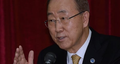 UN head calls for global climate change action