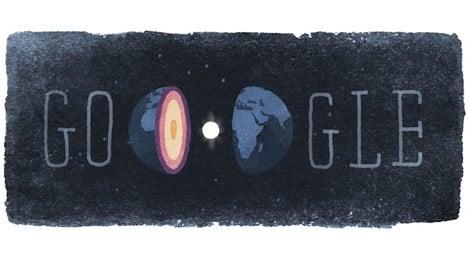 Google pays tribute to Danish seismologist