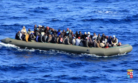 French boat saves 217 people from sea off Libya