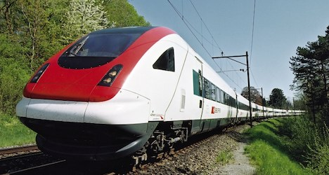 Swiss train passengers evacuated after landslide