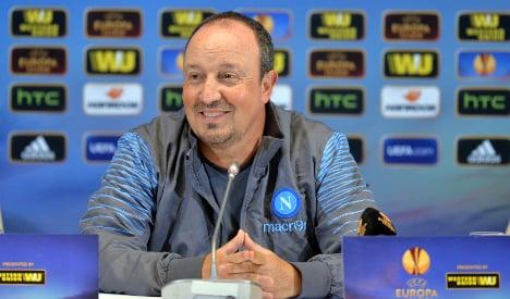 Rafael Benitez resigns as Napoli coach