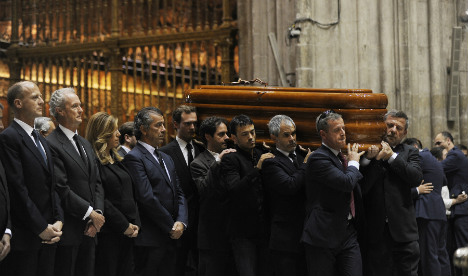 Funeral held in Seville for A400M crash victims