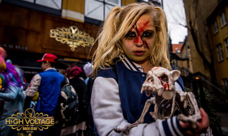 IN PHOTOS: Copenhagen overrun by zombies