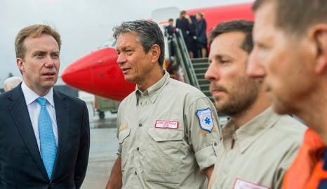 Norway rescuers regret short stay in Nepal