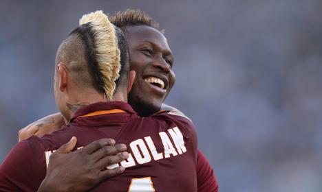 Roma stun Lazio in fiery city derby