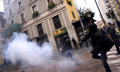 Italy PM says riots will not ruin Milan Expo 2015