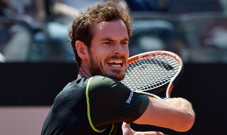 Andy Murray wins Rome opener