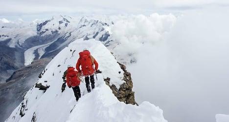 Severed rope recalls Matterhorn's first ascent