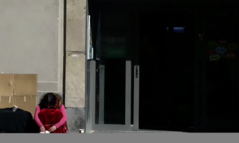 Stockholm beggars hit in firecracker attacks