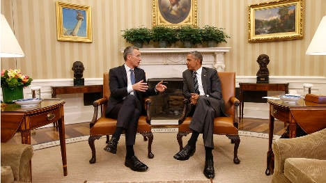 'We are lucky to have Stoltenberg': Obama