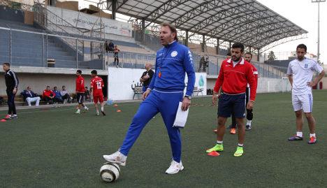 Palestinian club thrives under Italian coach