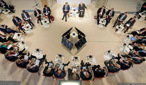 Greece eclipses G7 meeting in Dresden