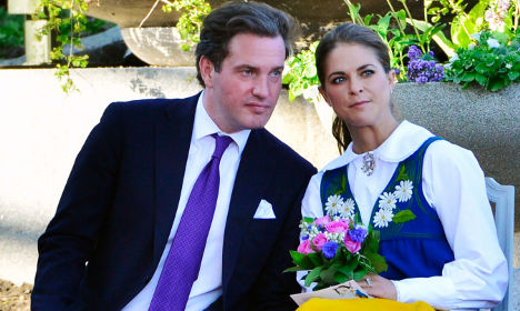 Royal princess couple to quit Stockholm for UK