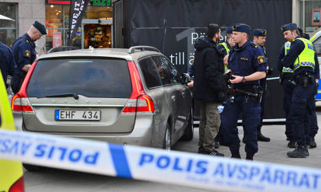 Swedish comic claims he was abducted by cops