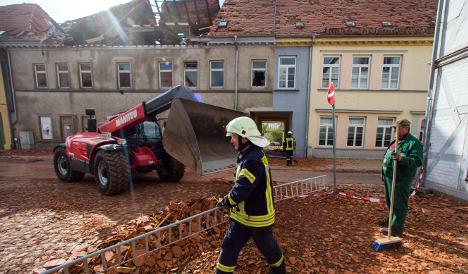 Tornado devastates north German town