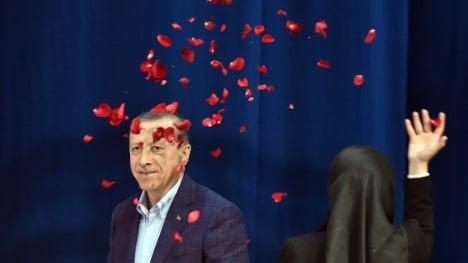 Erdogan pleads for German Turks' votes