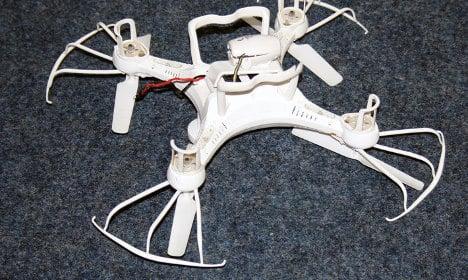 Autobahn driver suffers drone windscreen smash