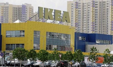 Russian veterans in Nazi attack on Swedish Ikea