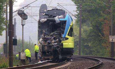 Fatalities in western Germany train crash