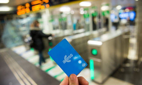 Stockholm metro card could cost 900kr a month