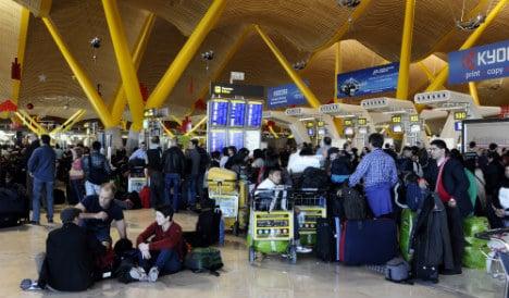 Air traffic controllers call June strike across Spain