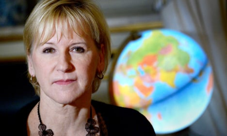 From the archive: The Local's interview with Margot Wallström
