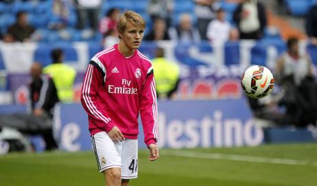 Odegaard youngest ever Real Madrid debutant