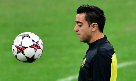 Barca to bid bye bye to Xavi Hernandez