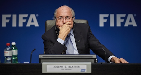 Sepp Blatter charity football tourney still on