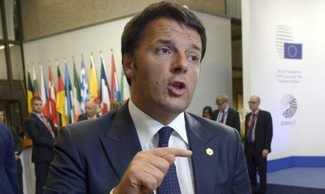 Renzi slams EU leaders over migrant quotas