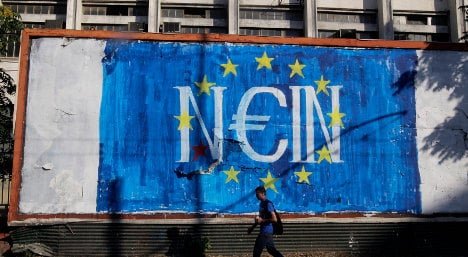 As it happened: EU urges Greece 'yes' vote