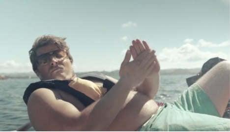 Norwegian anti-booze ad goes viral