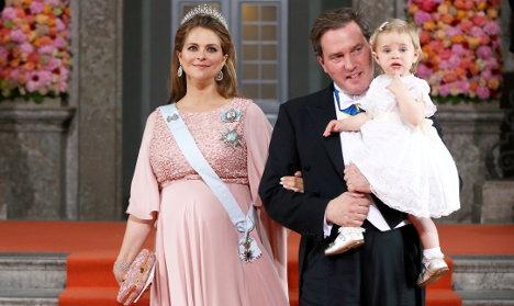 Princess Madeleine has baby Swedish prince