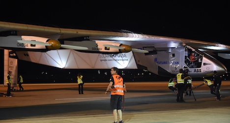 Solar plane 'could remain stuck in Japan for a year'