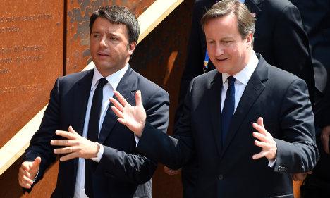 UK to back Italian migration spy agency