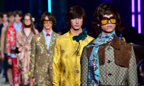 Gender-bending Gucci sets tone for 2016