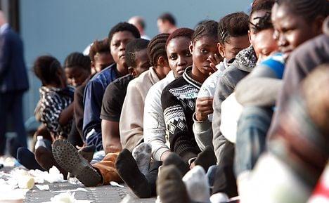 Danish ship rescues 222 boat refugees