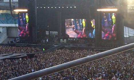 Foo Fighters end tour after Sweden leg break