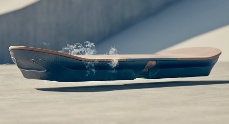 Barcelona to test 'Back to the Future' hoverboard