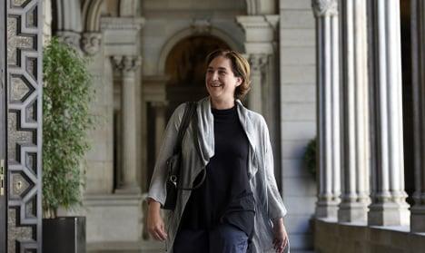 Ada Colau becomes new mayor of Barcelona
