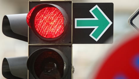 German traffic light stays red for 28 years